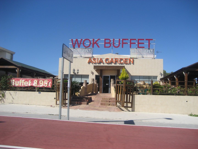 Wok buffet