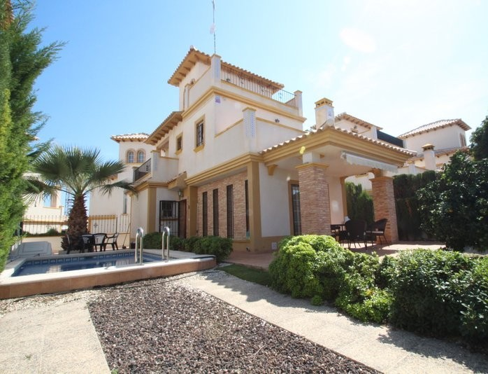 Lomas de Cabo Roig - Casa Senorio einbýli með einkasundlaug