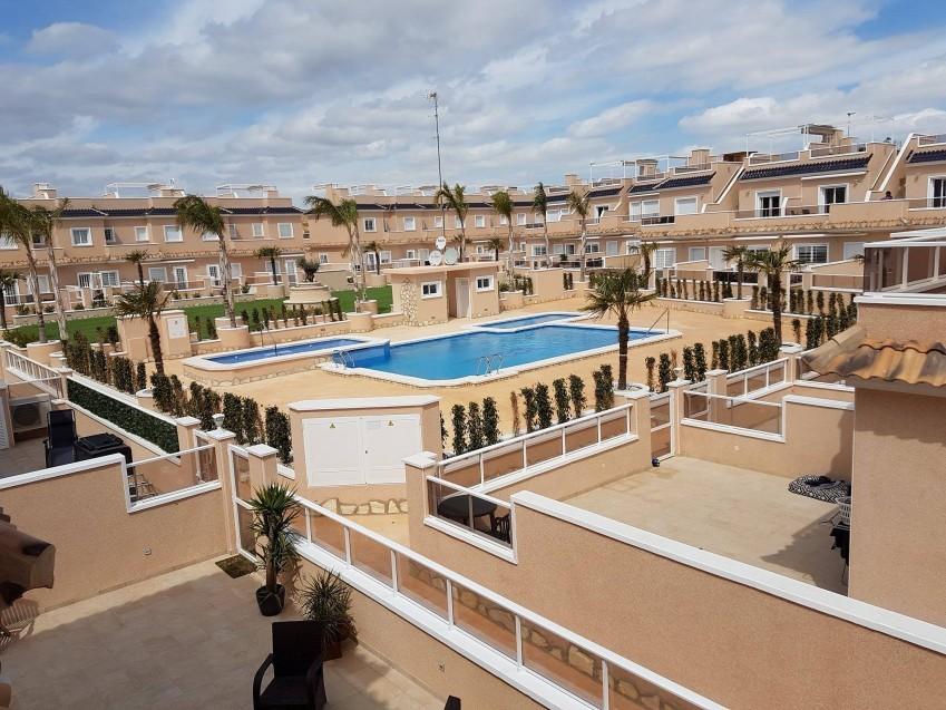 Lomas de Cabo Roig, Vista Azul - Casa Tarifa efri hæð með þaksvölum